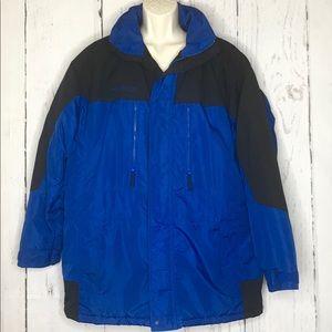 Men's Columbia Sportswear Blue/Black Jacket Lg